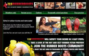 Visit 123 Rubber Boots