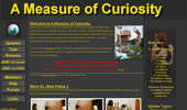 Visit A Measure Of Curiosity