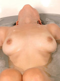 Teen awesome star taking bath