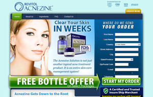Visit Acnezine - Acne Treatement