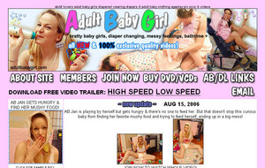 Visit Adult Baby Girl