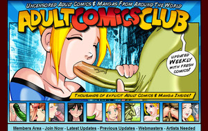 Visit Adult Comics Club
