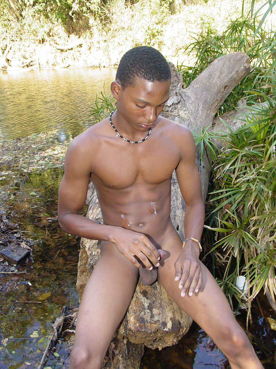The African guys naked sex
