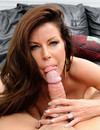 Hot MILF Tabitha Stevens with perfectly shaped fake boobs and beautifully trimmed bush gets nailed
