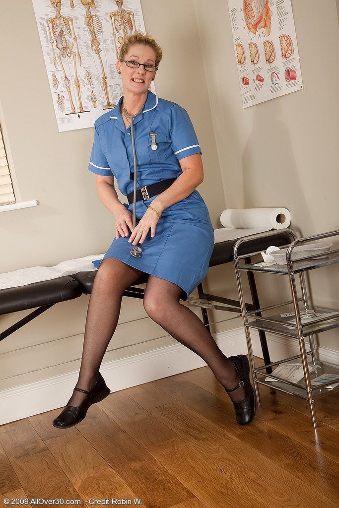 Real nurses nude mature