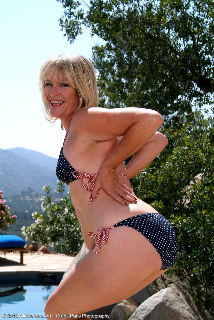 Mature wife playing with stranger at the lake binsfeld 2010 - 1 part 2