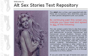 Visit Alt.Sex.Stories Text Repository