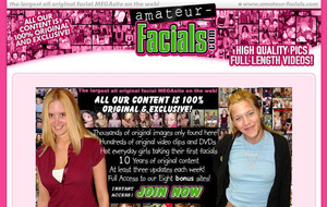 Visit Amateur Facials