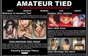 Visit Amateur Tied
