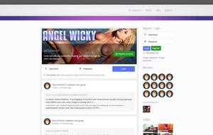 Visit Angel Wicky