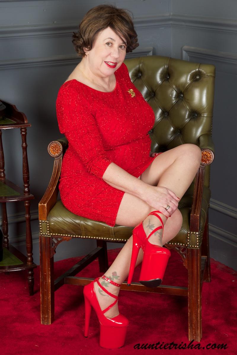 Granny high heels pics