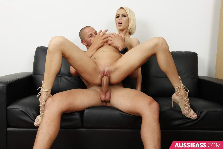 Australian blonde big tits