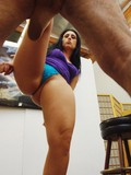 Bootyful Luscious Lopez bares it all with no shame after ruthless ball busting