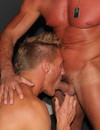 Hot bodied muscle gay guys suck each others dicks and drill each others asses in