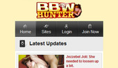 Visit BBW Hunter Mobile