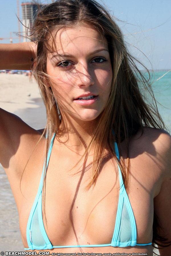 Beach Model / Adriana