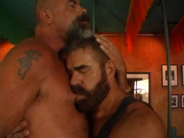 Hairy men fucking each other