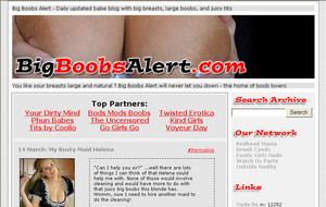 Visit Big Boobs Alert
