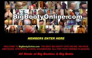 Visit Big Booty Online