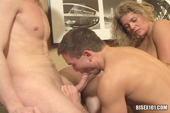 Bisexual guys first time