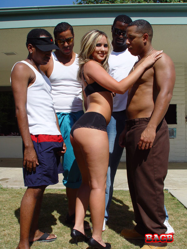 Madison monroe black gangbang