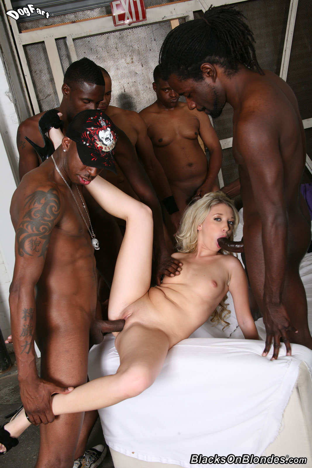 naked black men fucking blondes