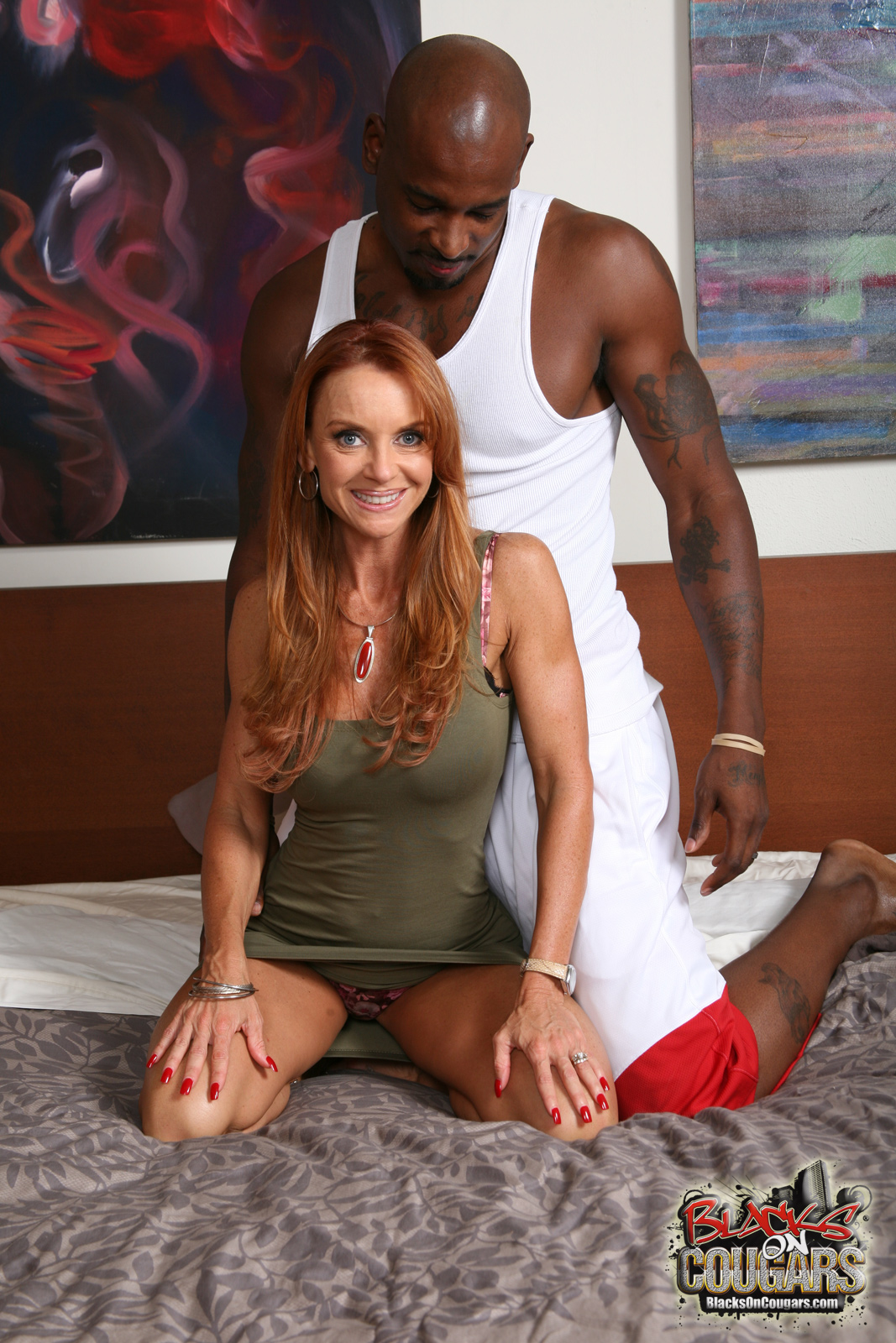 Horny cougar tara holiday enjoys bbc - 1 10