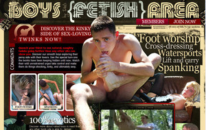 Visit Boys Fetish Area