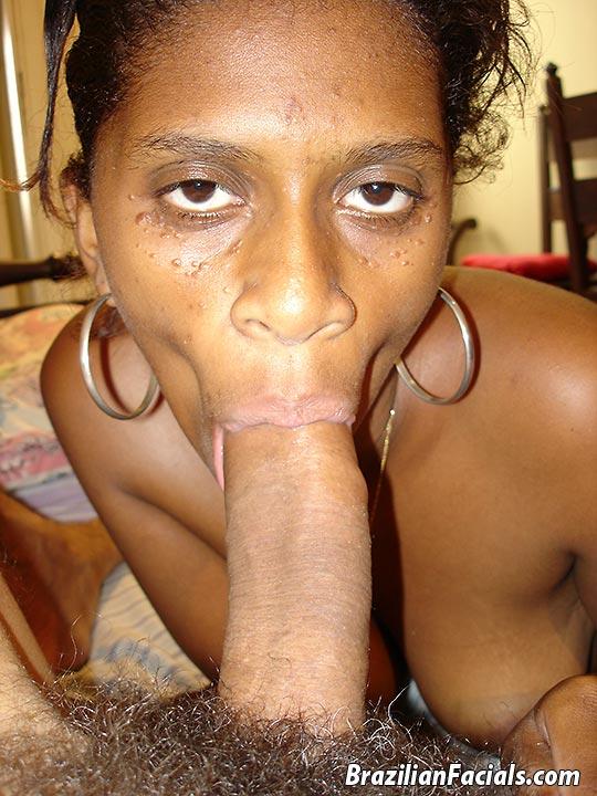 For Brazilian facials two black brazilian slut