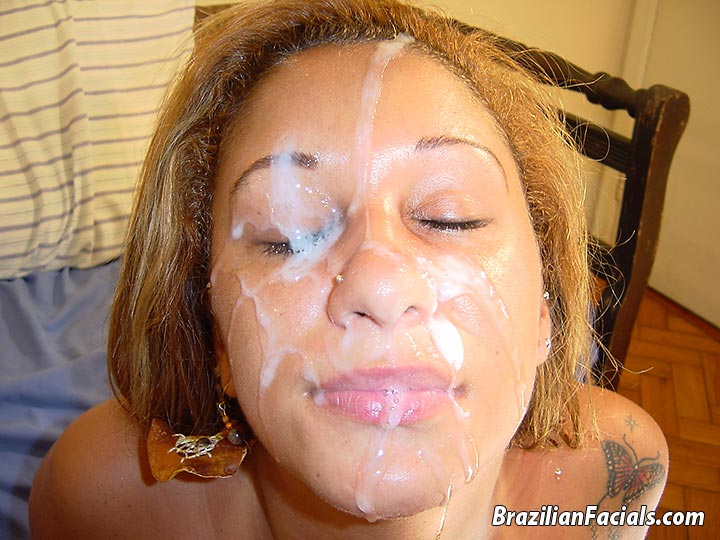 Cum Covered Facials