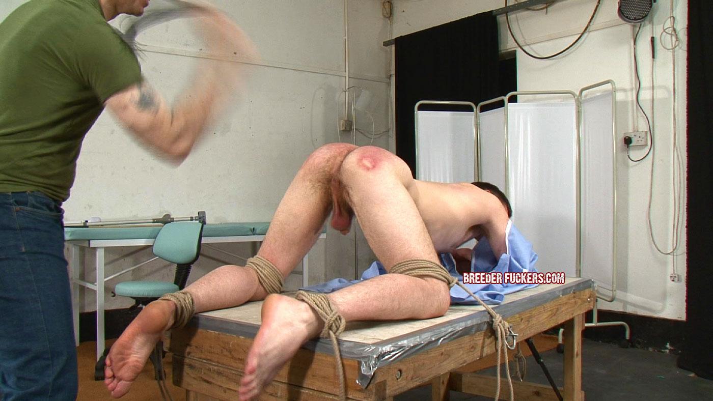 Russian male spank twink
