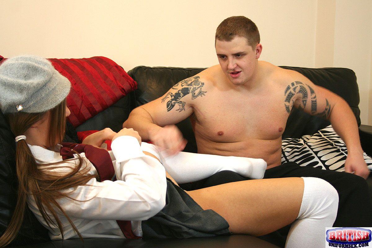 Tube uniform uniform sex british