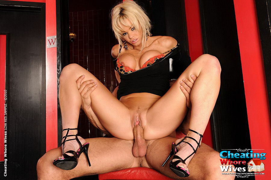Horny milf rides young cock