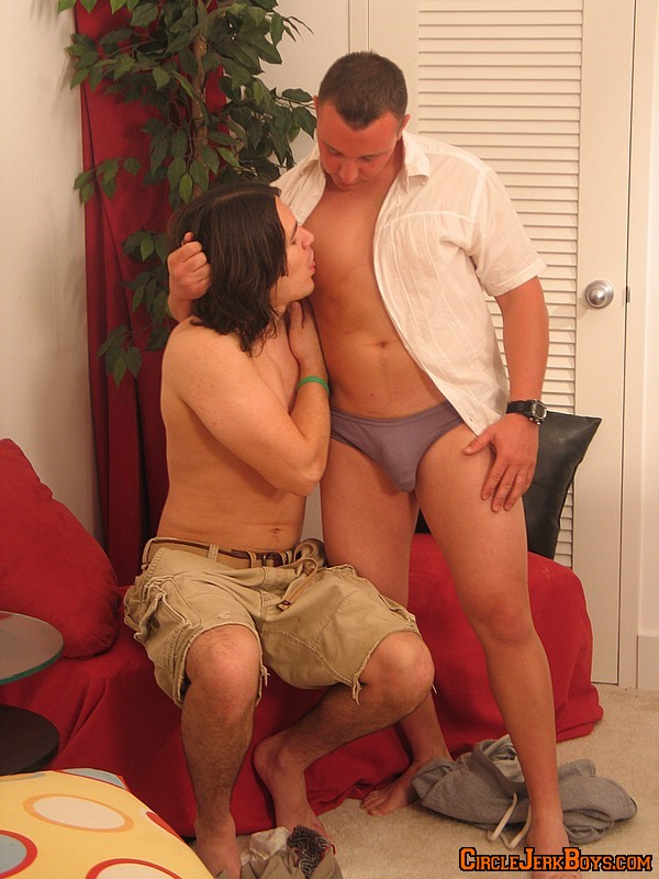 Long haired guy fucking his friend