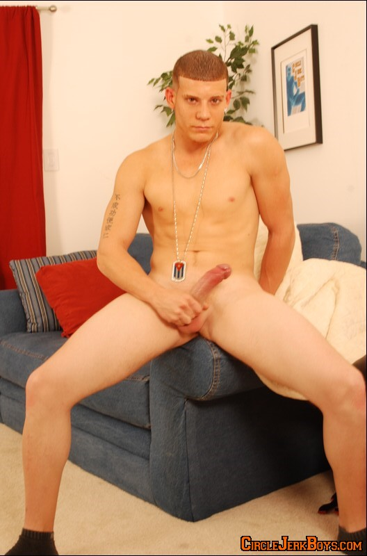 Naked Chap Jerks In A Lonely Place