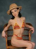 Adorable Masha in bikini teasing