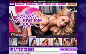 Visit Claudia Valentine XXX