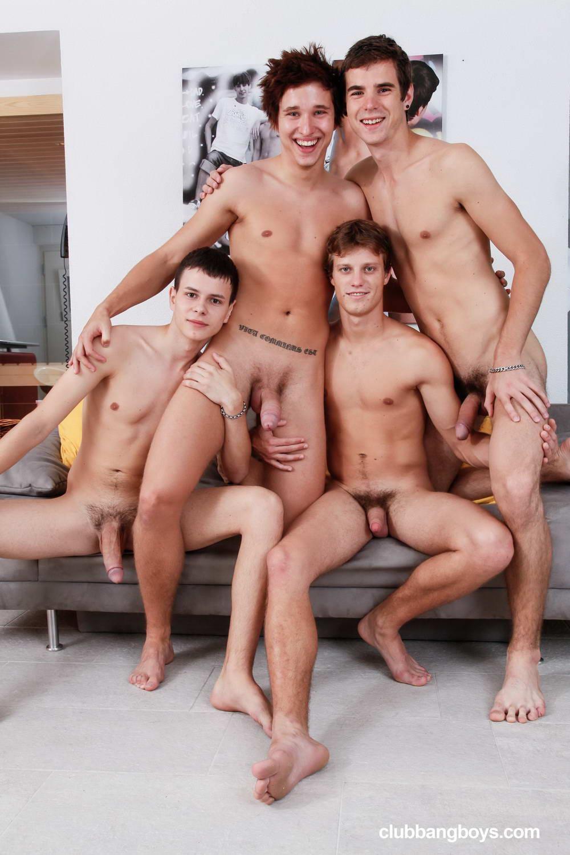 Fun nude guys