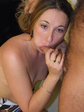 Experienced Blake blowing big cocks