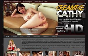 Visit Creampie Cathy