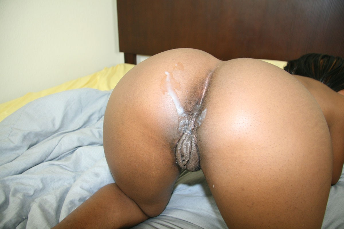 Cum black ass