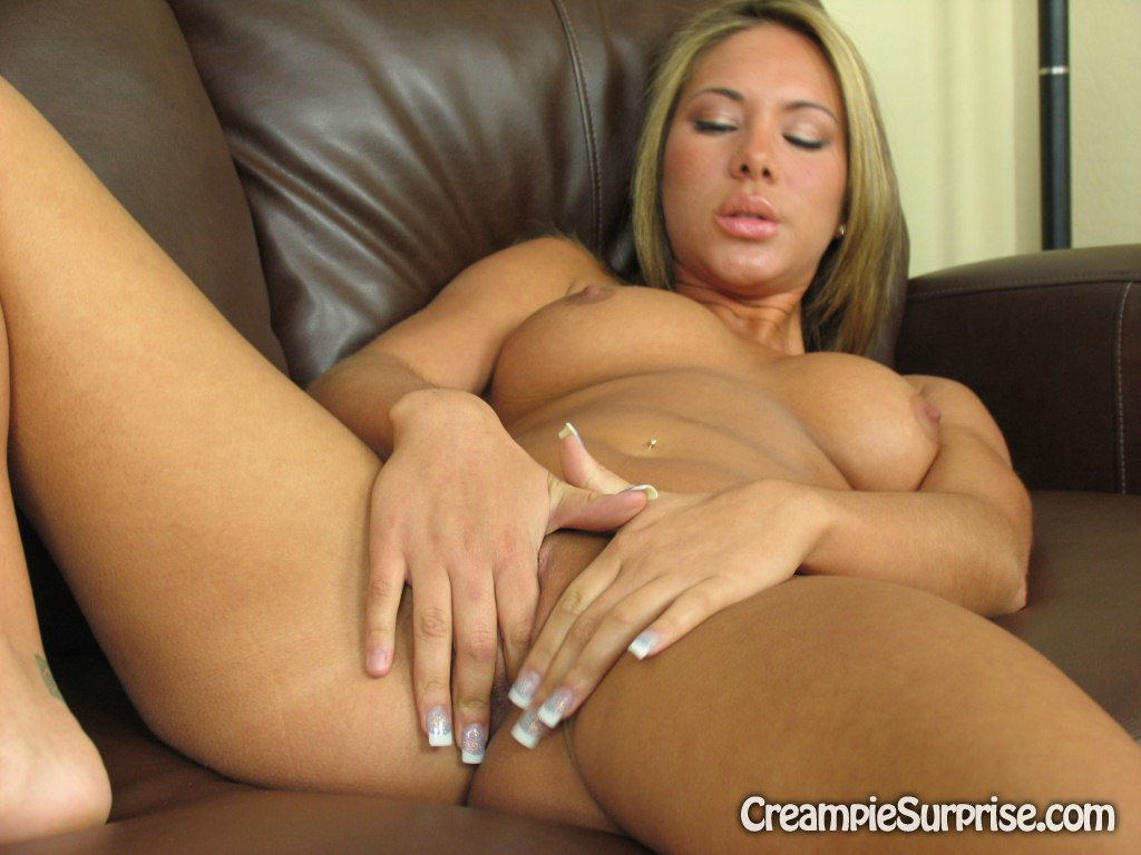 Remarkable, the Heavy creampie in pussy where