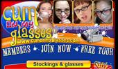 Visit Cum on My Glasses