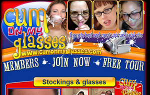 Visit Cum on My Glasses
