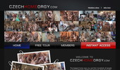 Visit Czech Home Orgy