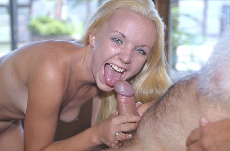 Never at a loss aged man's cock visits young horny pussy quite ...