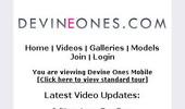 Visit Devine Ones Mobile