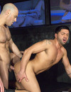 Perfect bodied gay fellows lick and fuck each others hot asses with wild desire