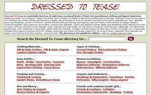 Visit Dressed To Tease