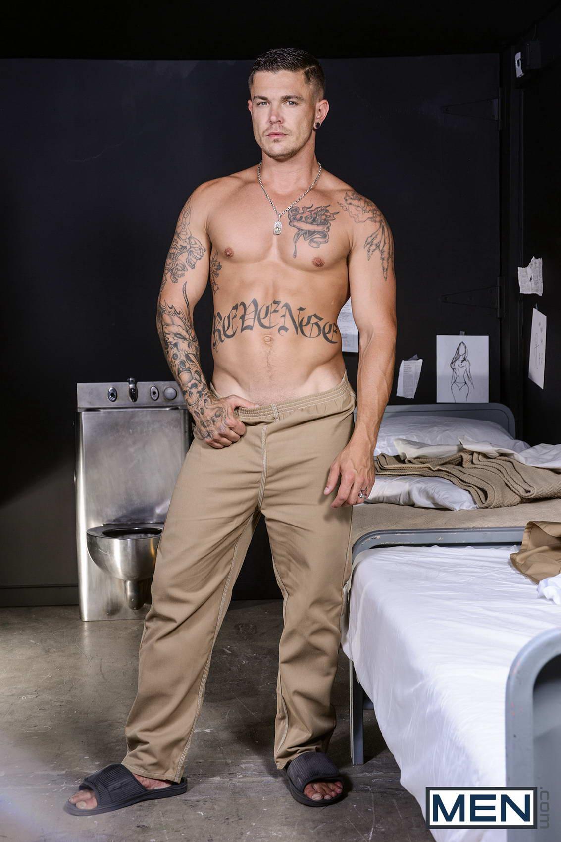 Hot gay sex in barracks